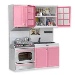 kitchen set mini kitchen pretend play cook cooking set cabinet stove toys pink