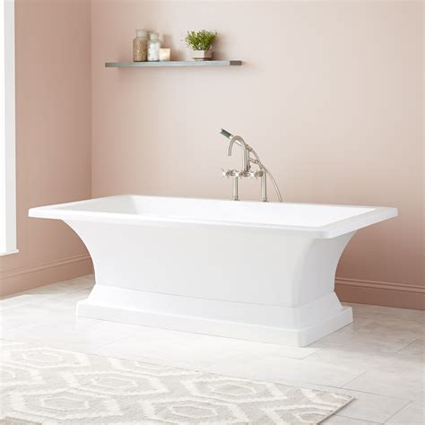 freestanding corner bathtubs 52 quot kauai corner acrylic tub bathroom