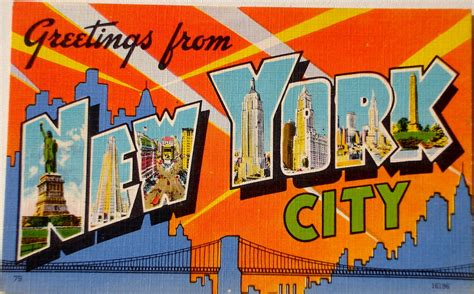 greetings from new york city postcard back text quot new