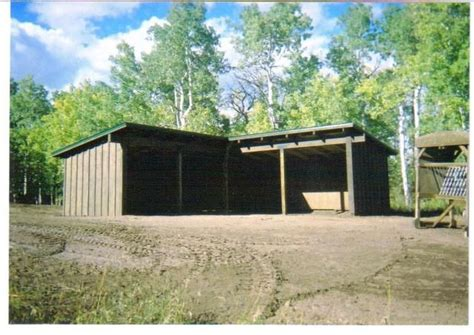 L Shed by L Shaped Loafing Shed Barn