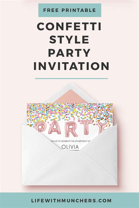 home confetti free printable lalaloopsy party invitations kids birthday party invitation printable foil balloon