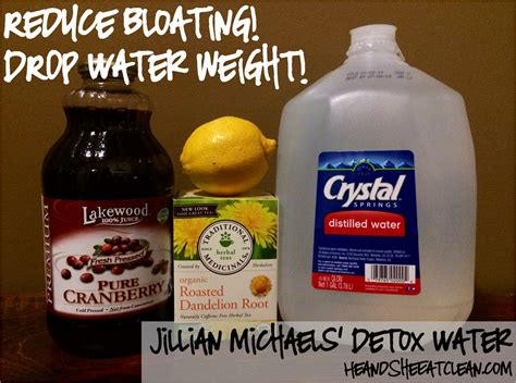 Water And Tea Detox by Jillian Detox Water Water Detox