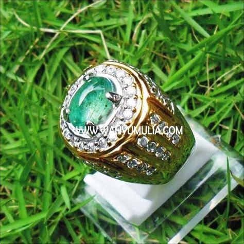 batu permata emerald beryl kode 107 batu permata