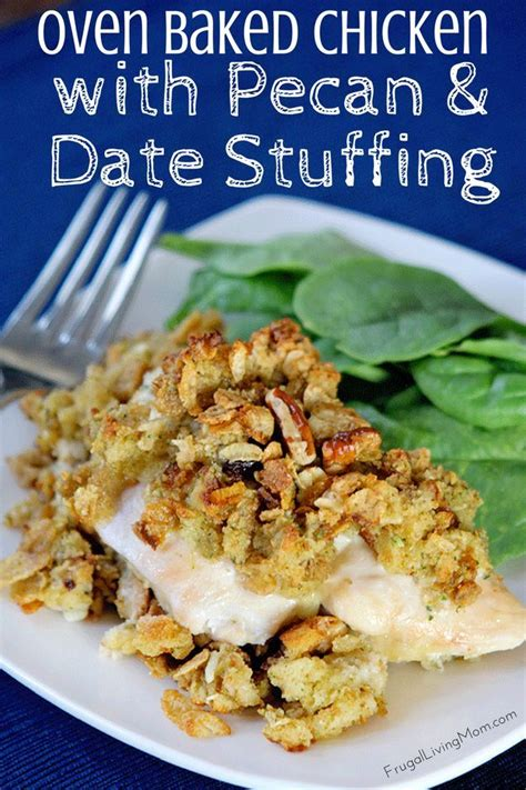 printable stuffing recipes oven baked chicken with pecan and date stuffing recipe