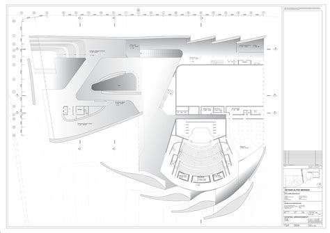 zaha hadid floor plan zaha hadid s heydar aliyev cultural centre turning a vision into reality buildipedia