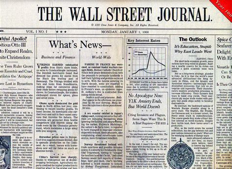 wall street journal review section y1k bro darryl s notebook