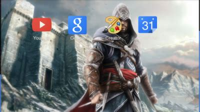 theme chrome assassin s creed assassins creed chrome themes themebeta