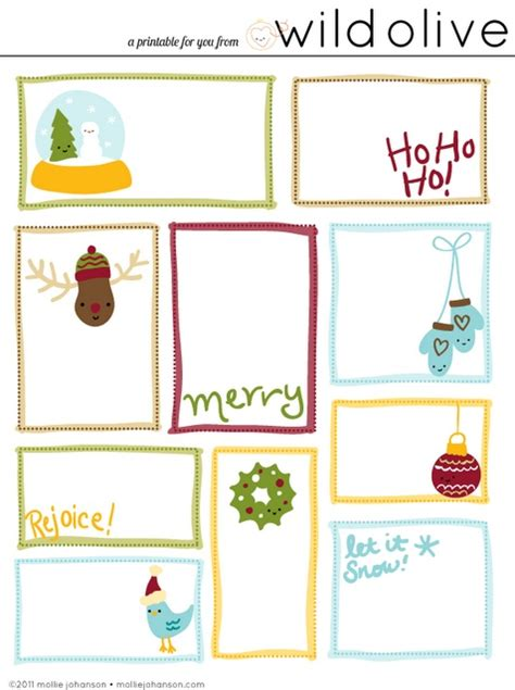 printable gift tags on pinterest printable gift tags christmas things pinterest