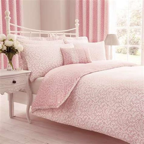 Pink Duvet Pink Reversible Duvet Cover And Pillowcase Set Dunelm