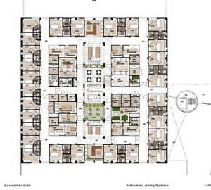 Floor Plan Hospital by Hospital Interior Design Floor Plan And Layout Psychiatry