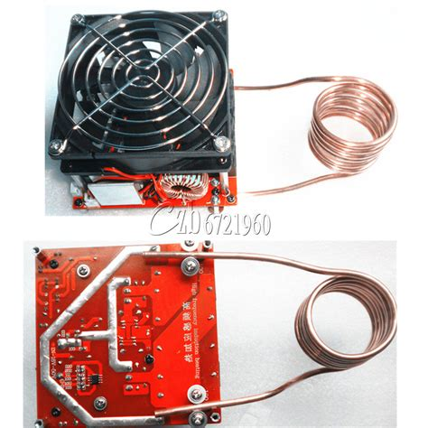 induction heating fan zvs 20a induction heating board flyback driver heater diy cooker ignition coil ebay