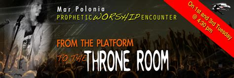 welcome to the throne room live from the way tv throne room with mar polonia prophetic roar international ministries