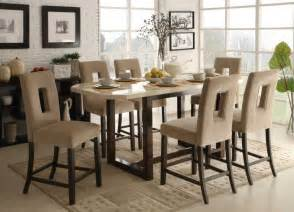 Designer Kitchen Chairs Kitchen High Back Upholstered Kitchen Chairs For 6 And Square Marble Top Table