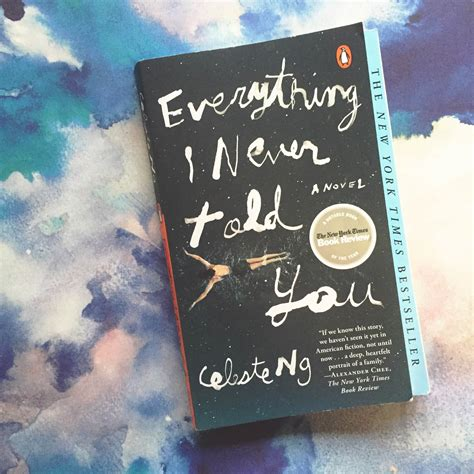 everything you wanted to but were never told books book review everything i never told you by celeste ng