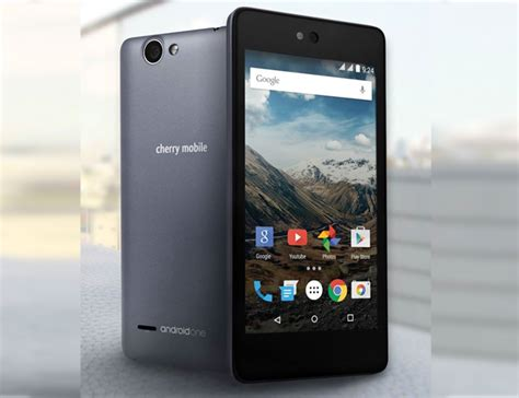 one mobile one cherry mobile one android one smartphone complete specs