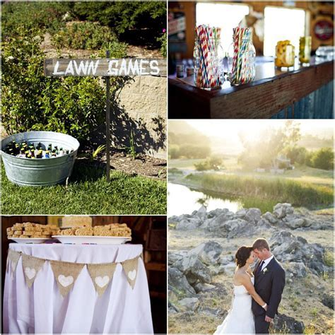 Country California Wedding   Rustic Wedding Chic