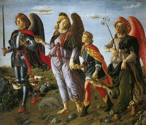 imagenes de tre cool i tre arcangeli e tobiolo franco canavesio blog