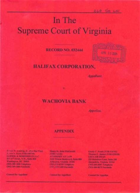 Washington Court Records Virginia Supreme Court Records Volume 268 Virginia Supreme Court Records