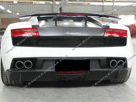 Lamborghini Gallardo Rear Lamborghini Gallardo Carbon Fiber Superleggera Rear