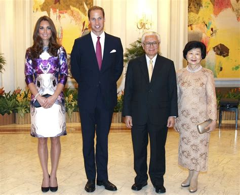 will and kate kate middleton photos photos will and kate at a state reception in singapore zimbio