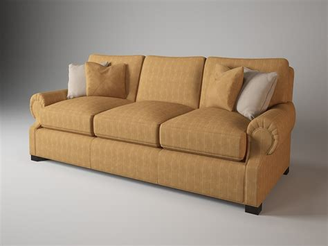 rolled arm settee 3d 829 90 rolled arm sofa