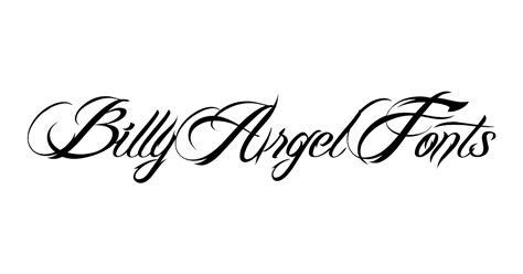 tattoo fonts billy argel destroyed billy argel fonts