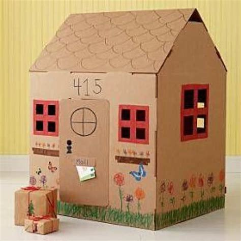 cardboard house 10 fun things to do with your dad tinyme blog