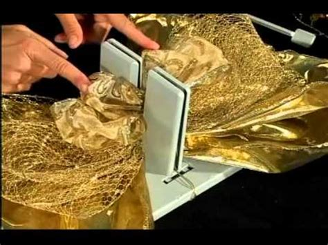 youtube how to make a silver xmas bow bowdabra layered bow