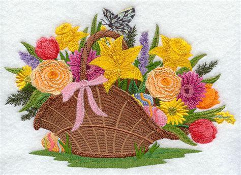 design a flower basket the gallery for gt hand embroidery flower basket designs