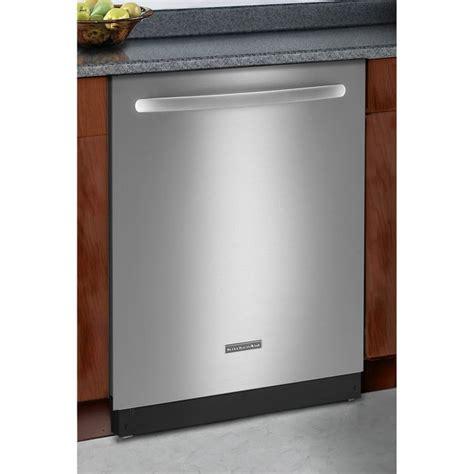 Kitchenaid Stainless Dishwasher by Kitchenaid Kudc10fxss Classic Series Stainless Steel