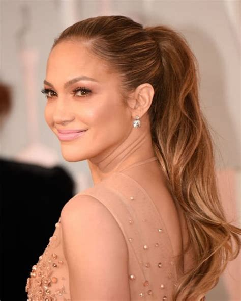 j lo ponytail hairstyles jennifer lopez hair color how to get j lo s hair