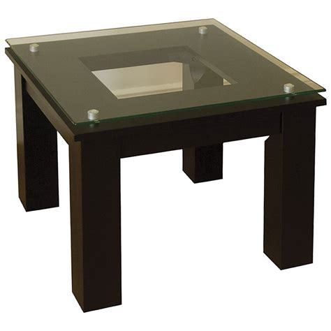 glass end table modern glass end table in accent tables