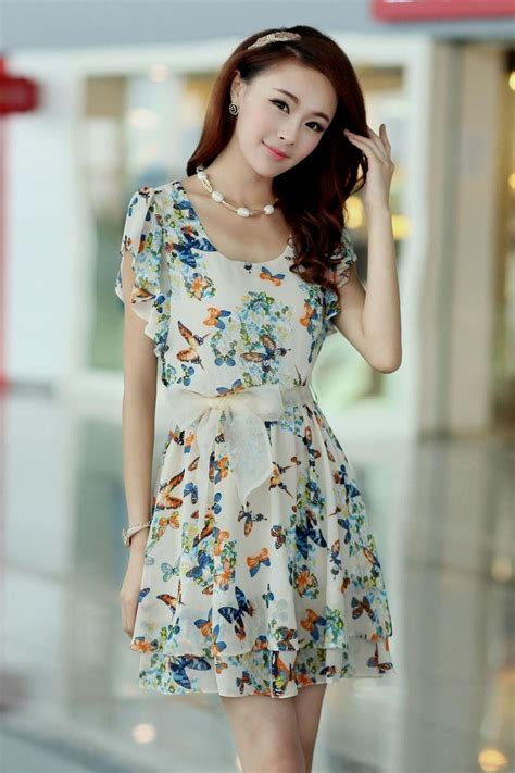 Dress Mini Korean simple korean dress 2015 naf dresses