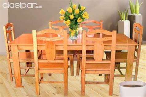 juego de comedor de  sillas madera  nuevos