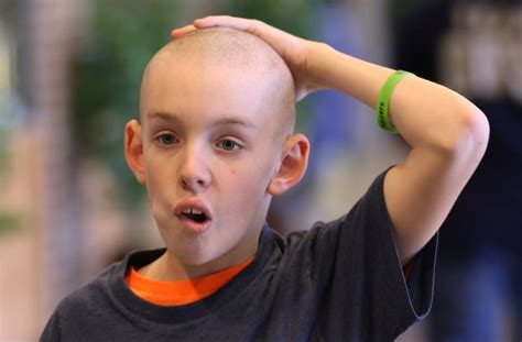 bald haircut story bald is beautiful and charitable in grayslake