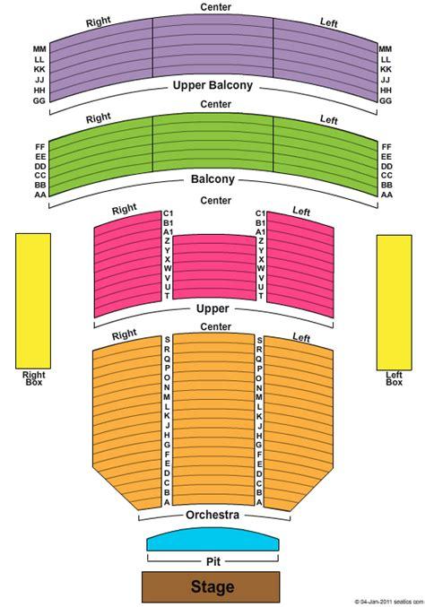 tulsa pac seating capacity tulsa performing arts center seating brokeasshome