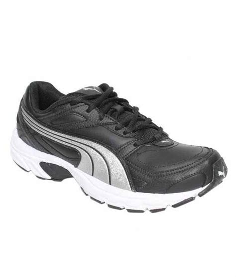 axis xt 11 black siver sport shoes price in india