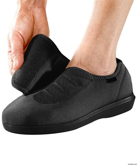 shoes for elderly mens stretch shoe with adjustable fits up to size 14