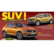 VW T ROC &amp Cross Rendered By French Media