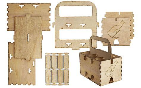 wood 6 pack beverage holder idea central cb2 blog