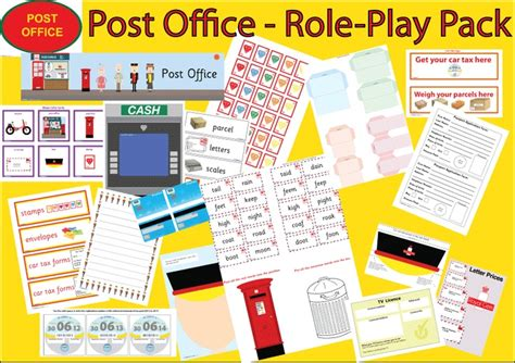 17 best images about post office play on