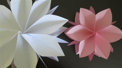 large paper flower tutorial giant paper flowers an origami twist tutorial https
