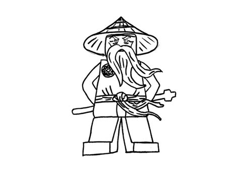 lego ninjago sensei wu coloring pages free coloring pages of ear de ninjago