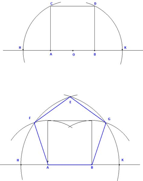 how to construct a pentagon dirk bertels constructing the pentagon