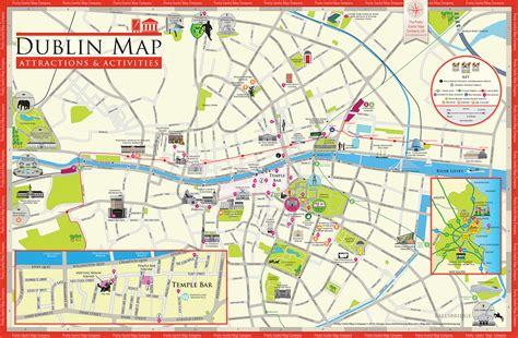 printable map dublin city centre dublin ireland cruise port of call
