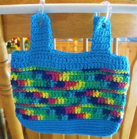 walker tote bag crochet pattern 30 best crochet totes for wheelchairs walkers images on