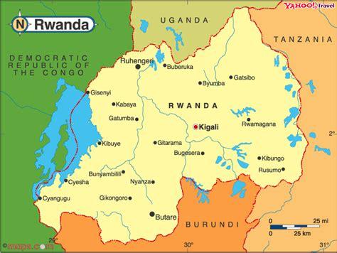rwanda map rwanda tubakunde project
