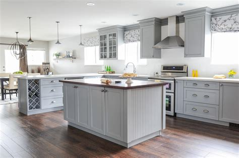 Grey Cabinets Kitchen by Cool Gray Cabinets Kitchen Hd9e16 Tjihome