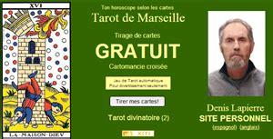 tarot gratuit denis lapierre cartomancie com site de tirage tarot de marseille