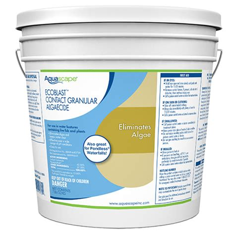 aquascape ecoblast aquascape ecoblast granular algaecide 7 lb best prices
